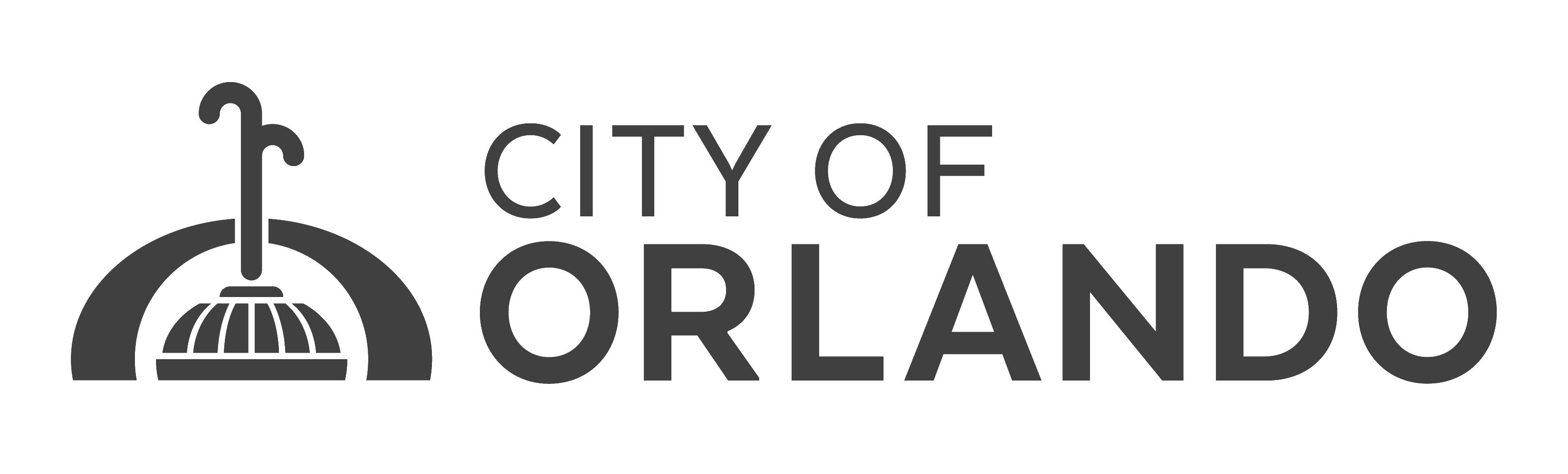 City of Orlando Logo (color) 09-2018_Grey