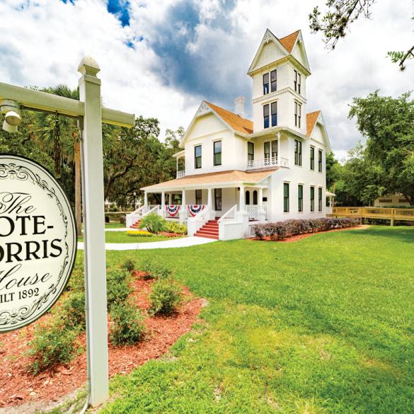 Historic Mote Morris House